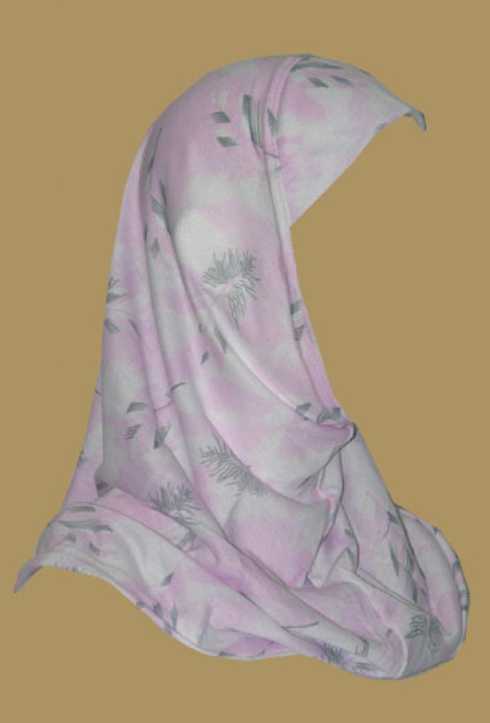 Girl's Printed One Piece Hijab ch401