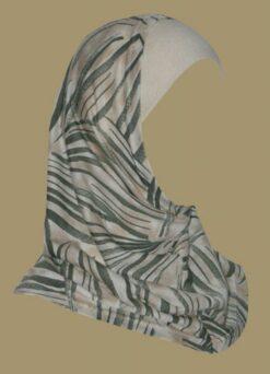 Girl's Printed Two Piece Hijab ch407