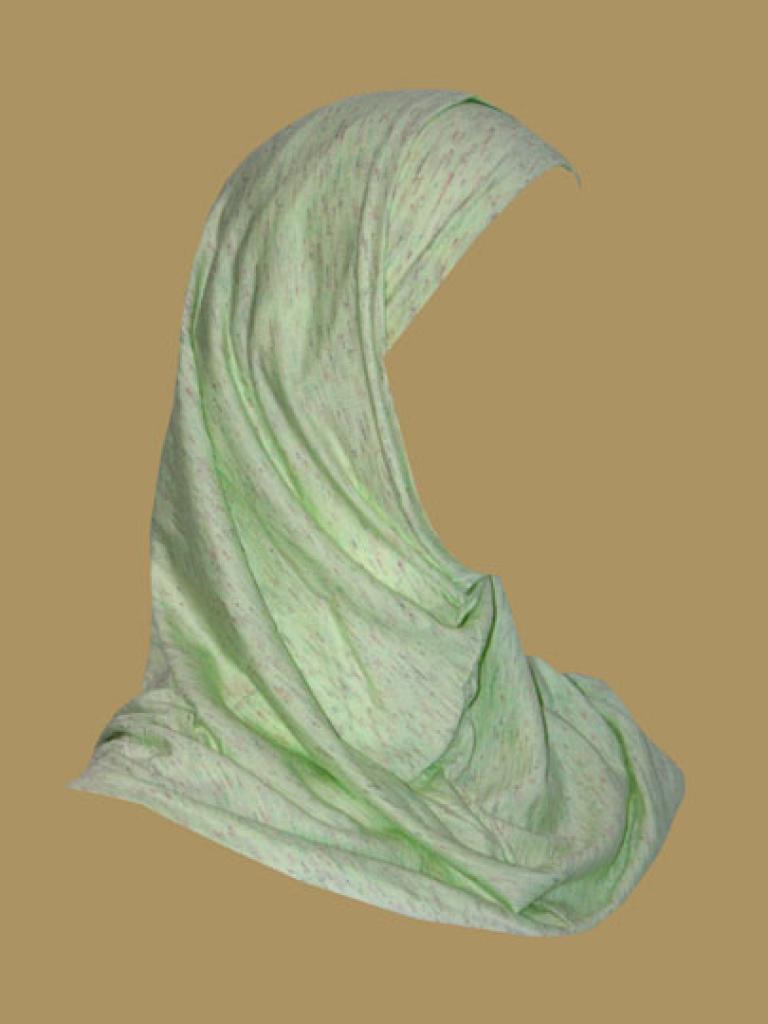 Girl's Printed Two Piece Hijab ch413