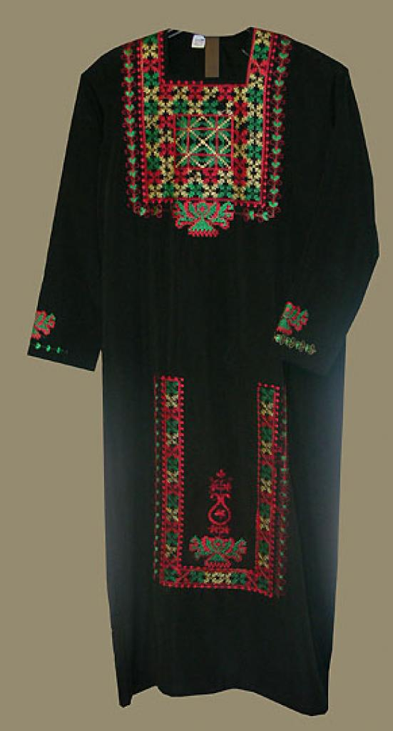 Girls Embroidered Bedouin Style Thobe ch424