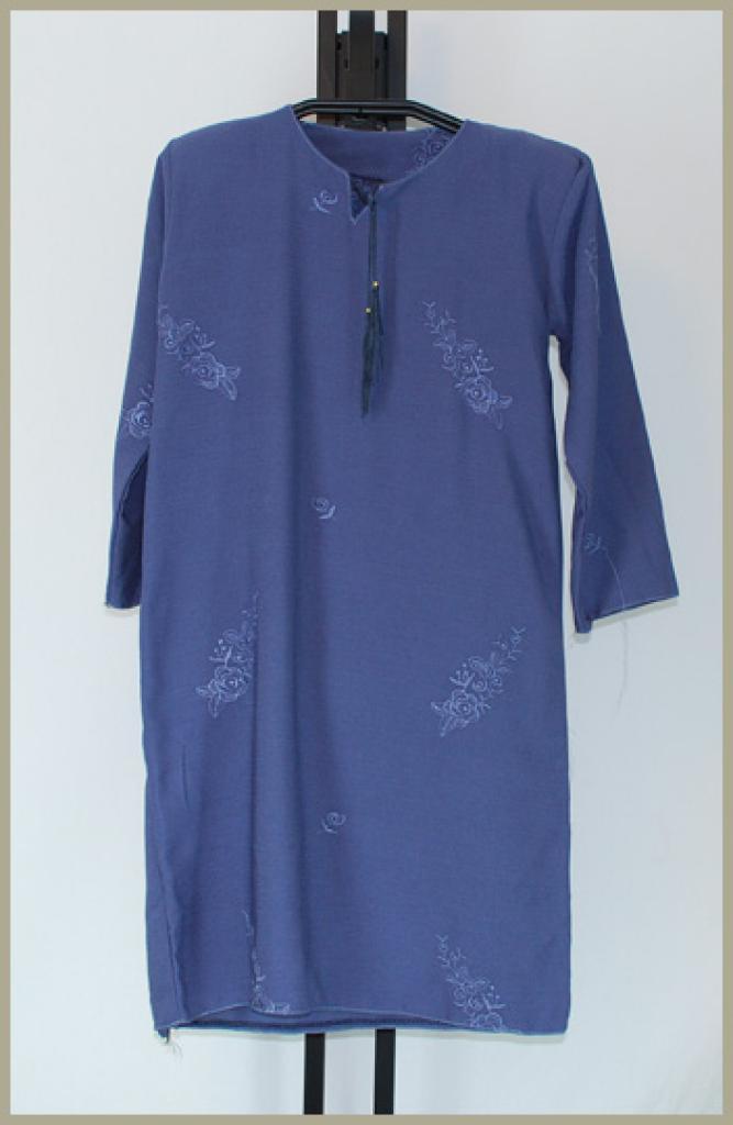 Girls Embroidered Abaya ch433