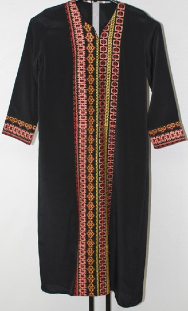 Girls Embroidered Bedouin Style Thobe ch470