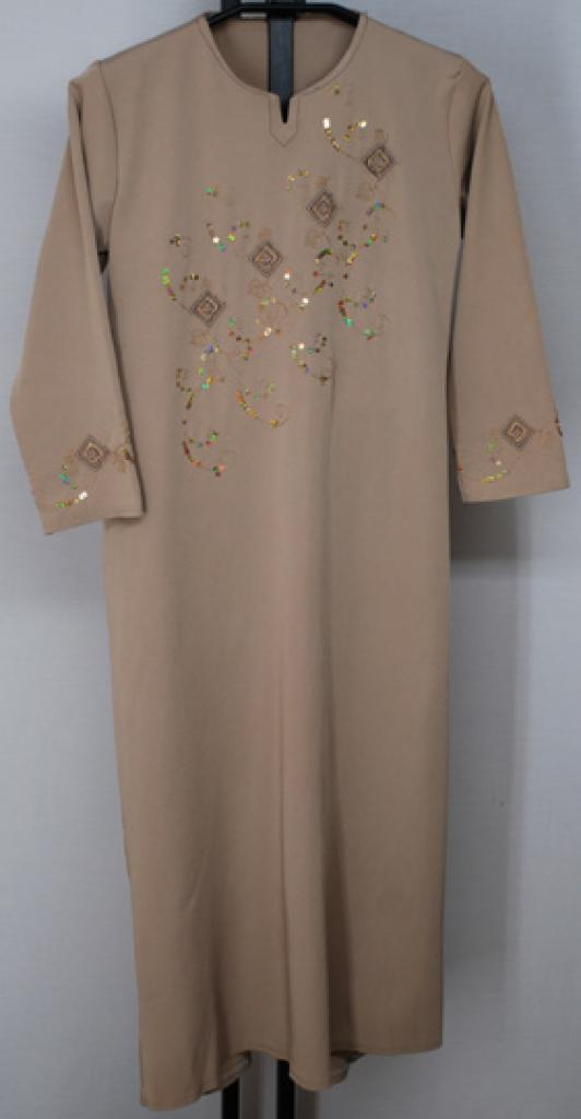 Girls Embroidered Thobe ch472