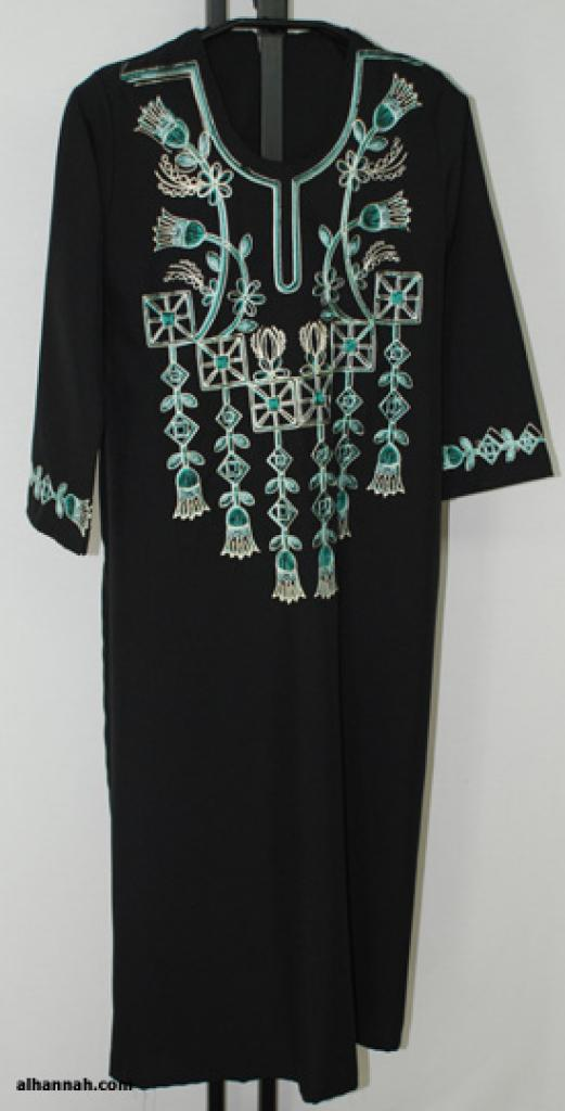 Girls Embroidered Bedouin Style Thobe ch473