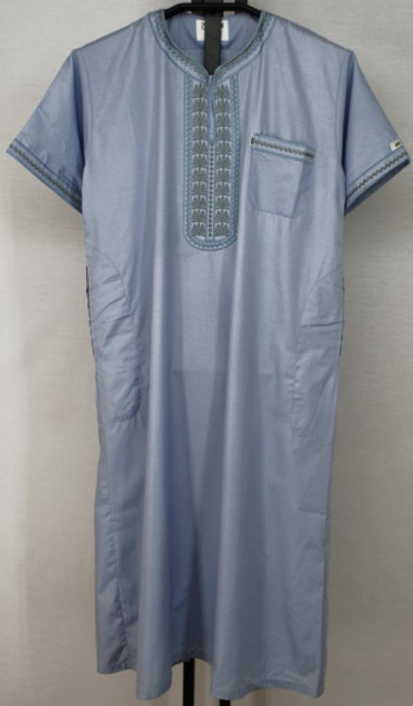 Boys Embroidered Moroccan Dishdasha ch477