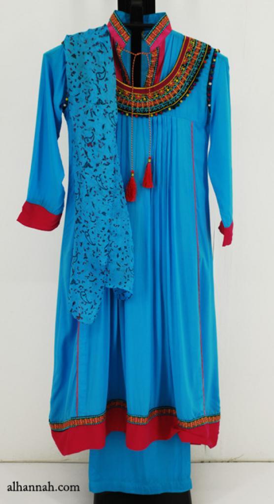 Premium Girls Cotton-blend Salwar Kameez ch490