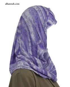 Girls AlAmirah Hijab Lilac Print ch502