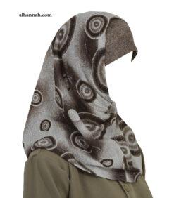 Girls AlAmirah Hijab with Spiral Print ch503