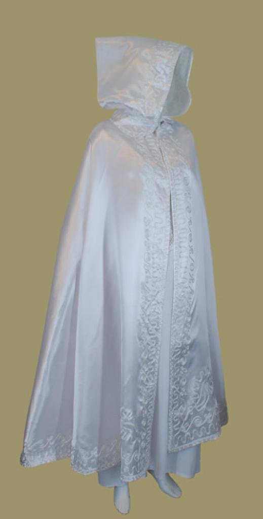 Hooded Bridal Cape ct505