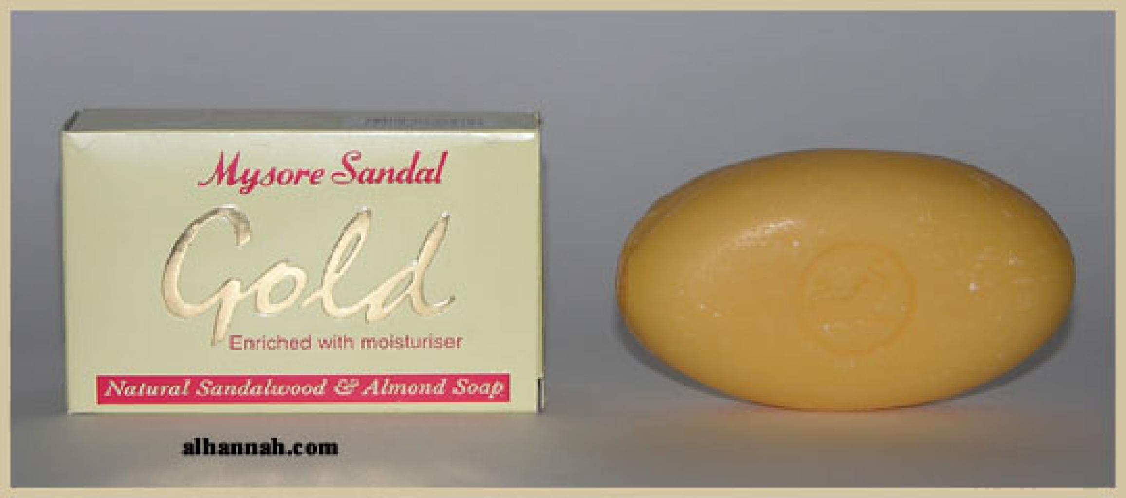 Premium Mysore Gold Sandalwood soap gi389