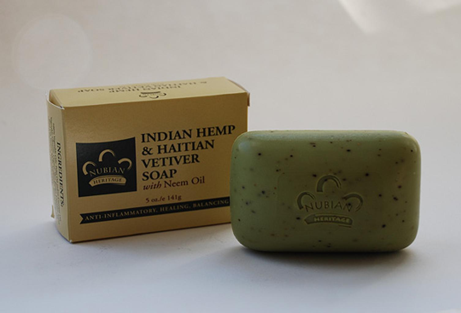 Indian Hemp and Haitian Vetiver Soap gi519