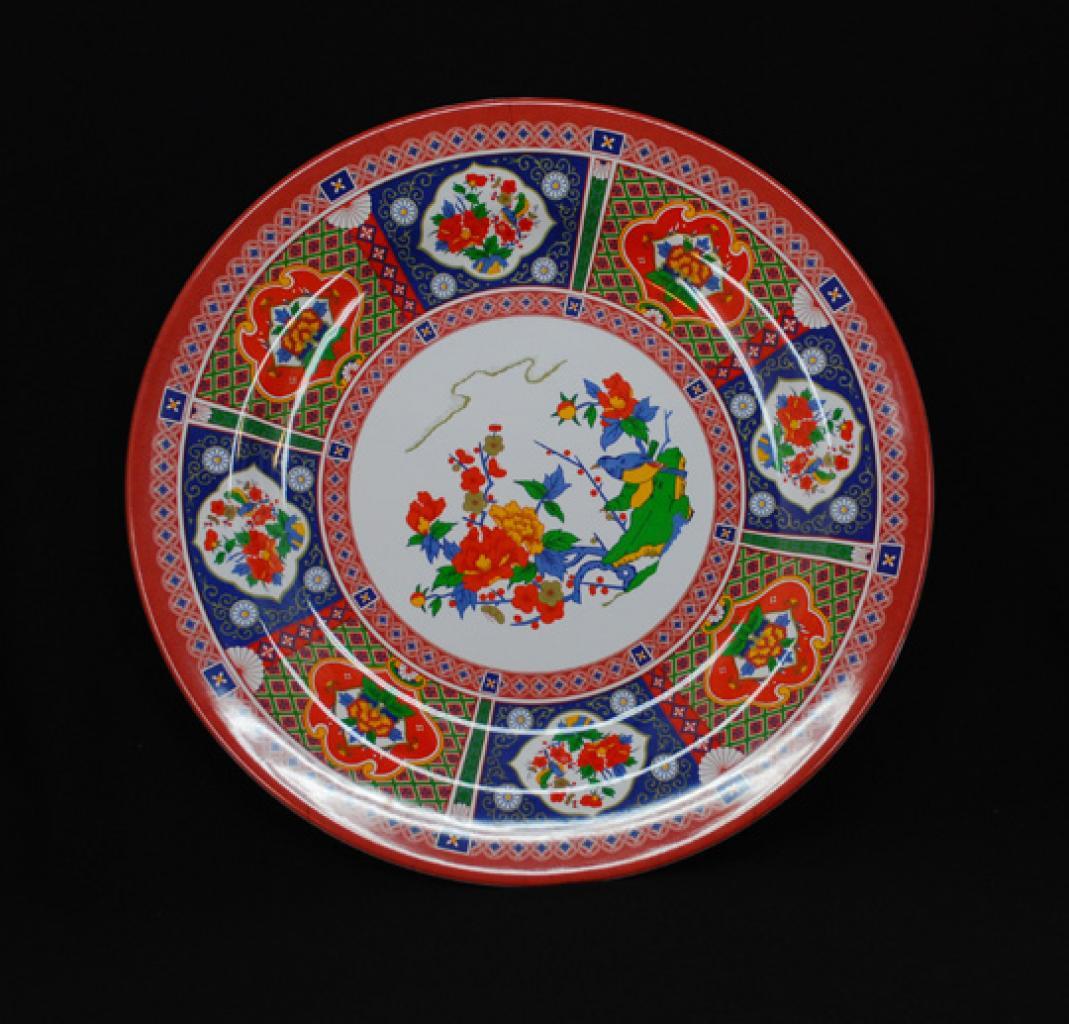 Ornate Melanine Serving Plate gi596