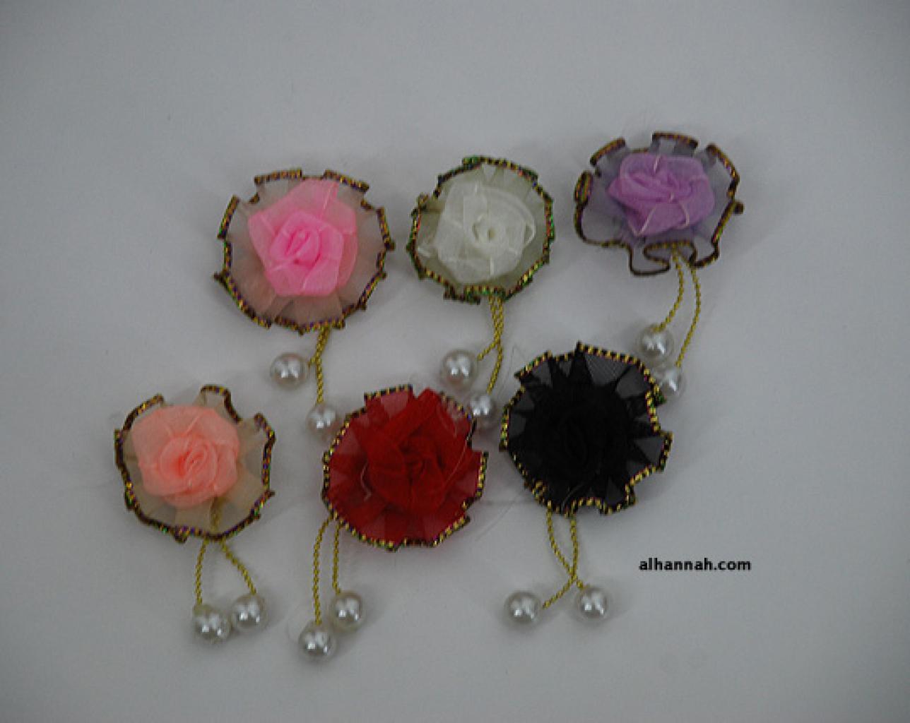 Floral Brooch Hijab Pins gi650