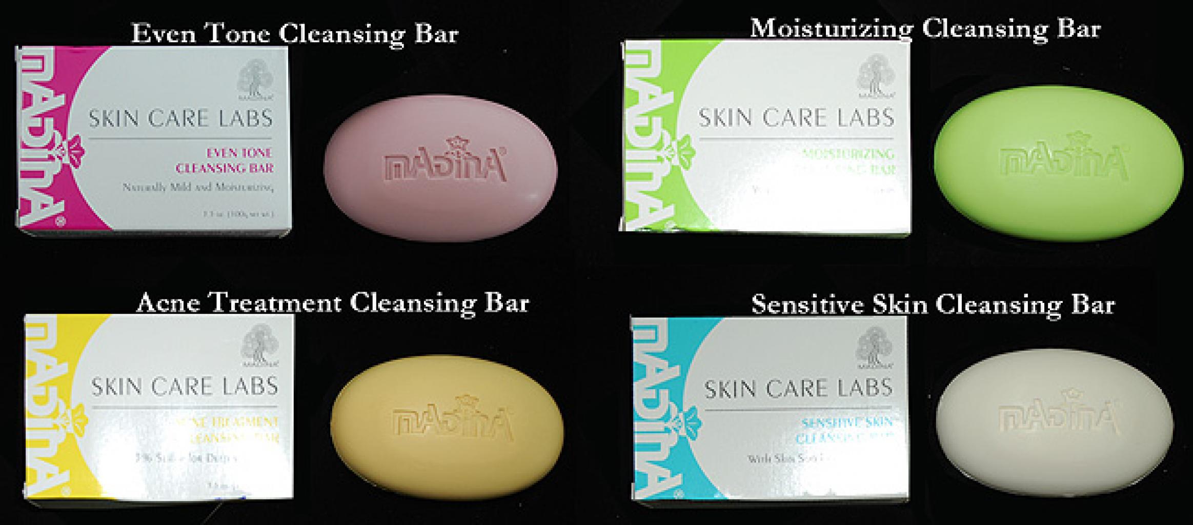Madina Skin Care Labs Cleansing Bars gi690