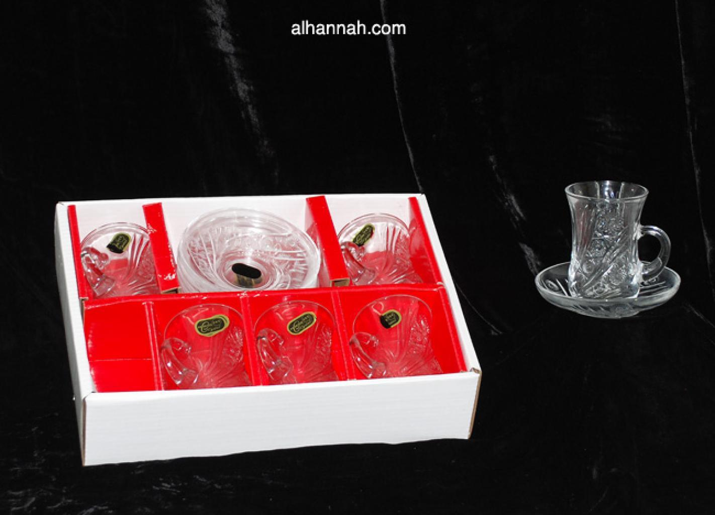 Turkish Tea set crystal