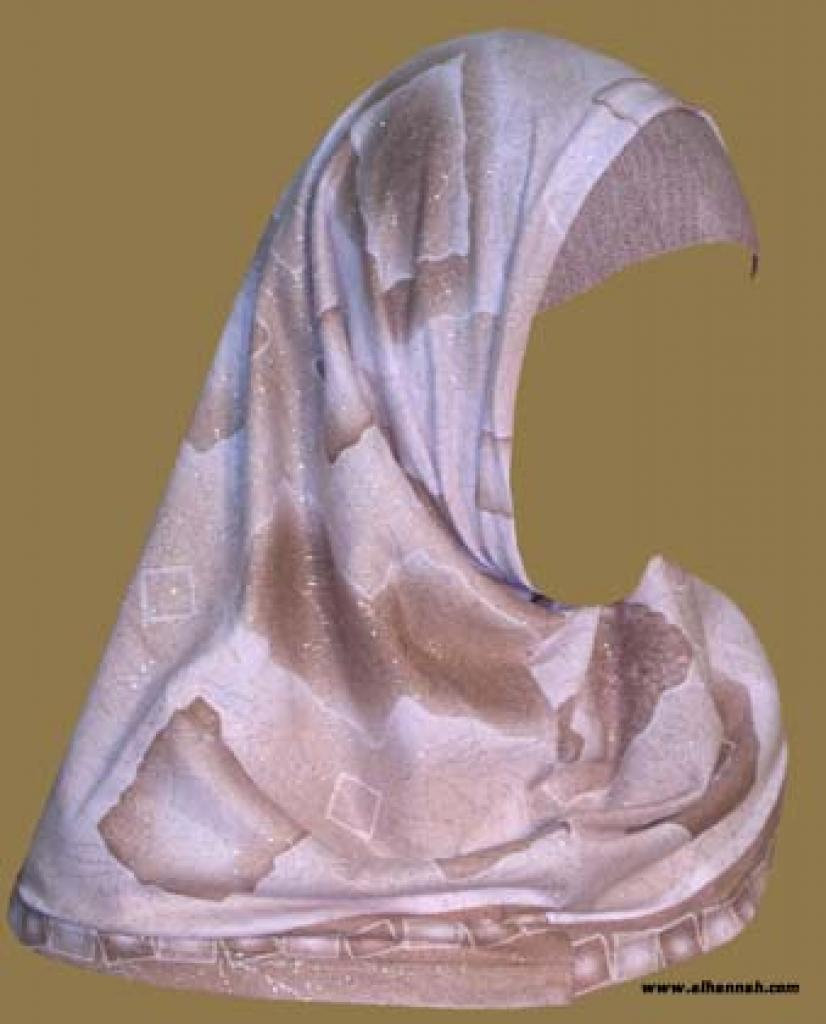 Turkish Printed Floral Hijab hi1012