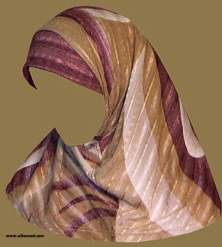 Two Piece Religious Veil  hi1017