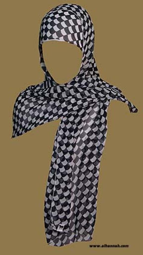 Shayla and Under-cap Style Al Amira Hijab hi1025