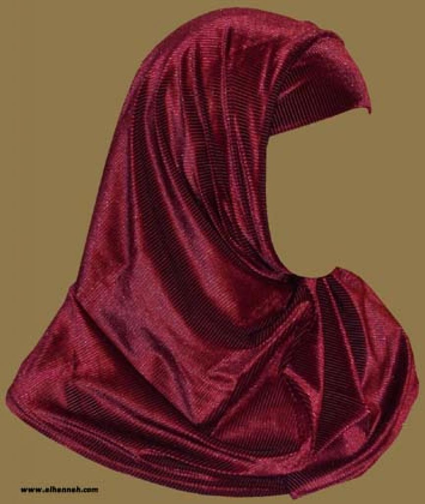 Two Piece Velour Religious Veil  hi1026