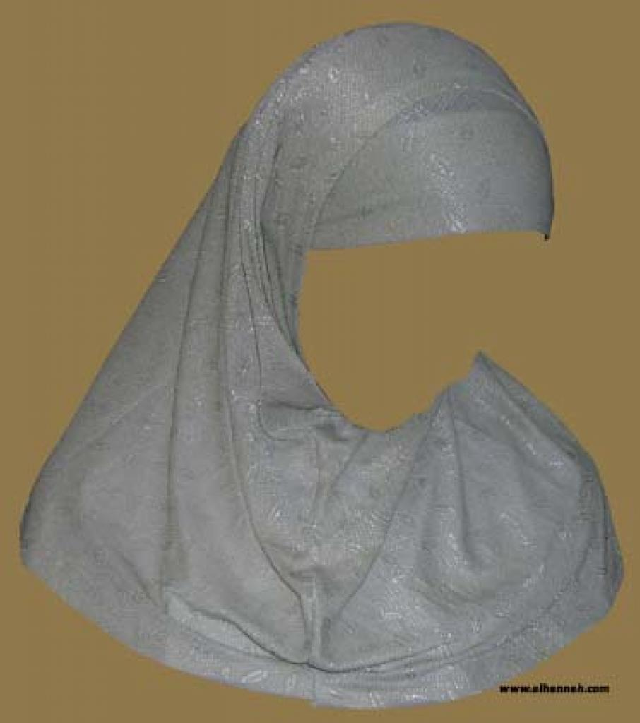 Two Piece Religious Veil  hi1030