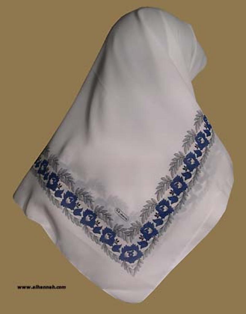 Italian Style Georgette Hijab hi1041