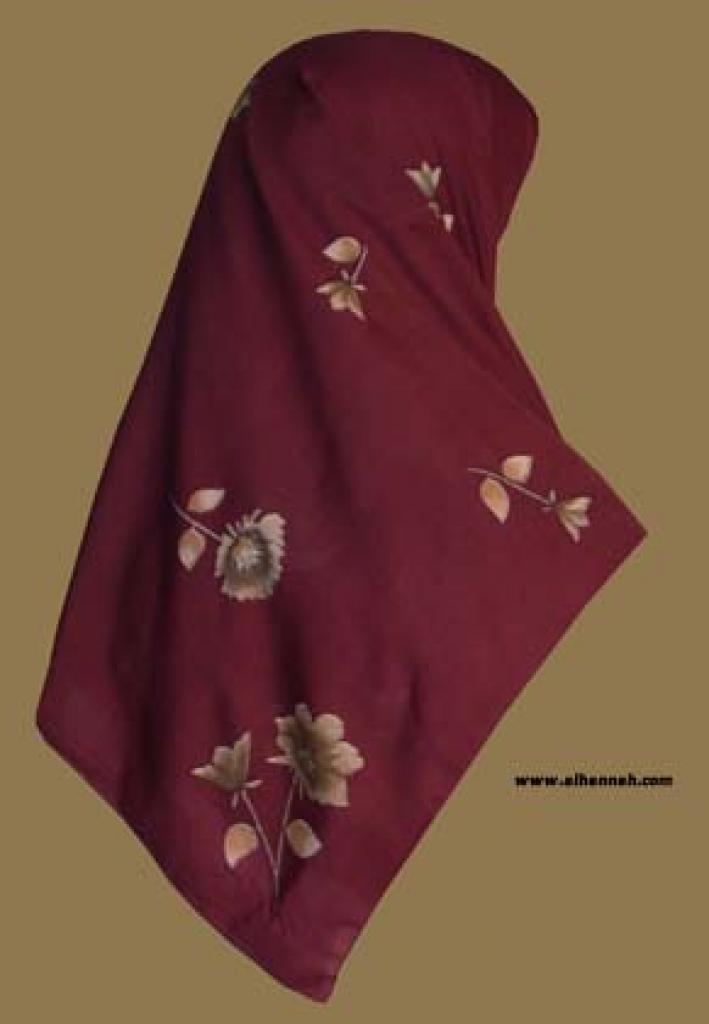 Georgette Chiffon Hijab  hi1043