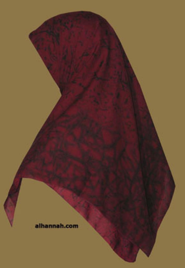 Chiffon Hijab  hi1077