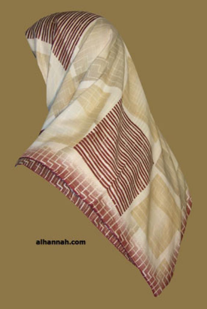 Chiffon Hijab  hi1086