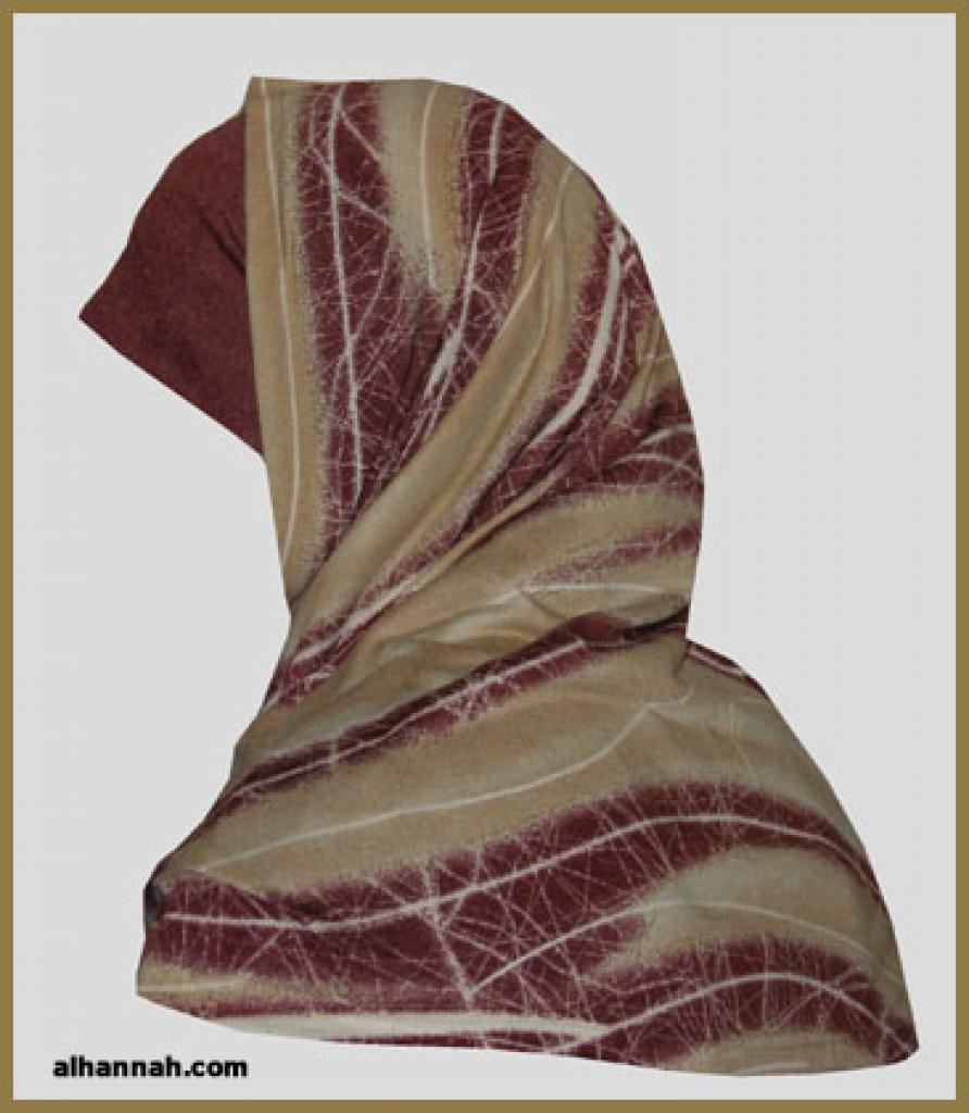Al Amira 2 Piece Religious Veil hi1099