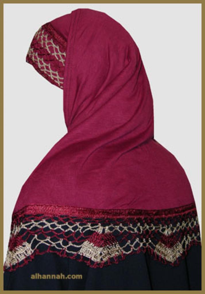 Al Amira 2 Piece Religious Veil hi1102
