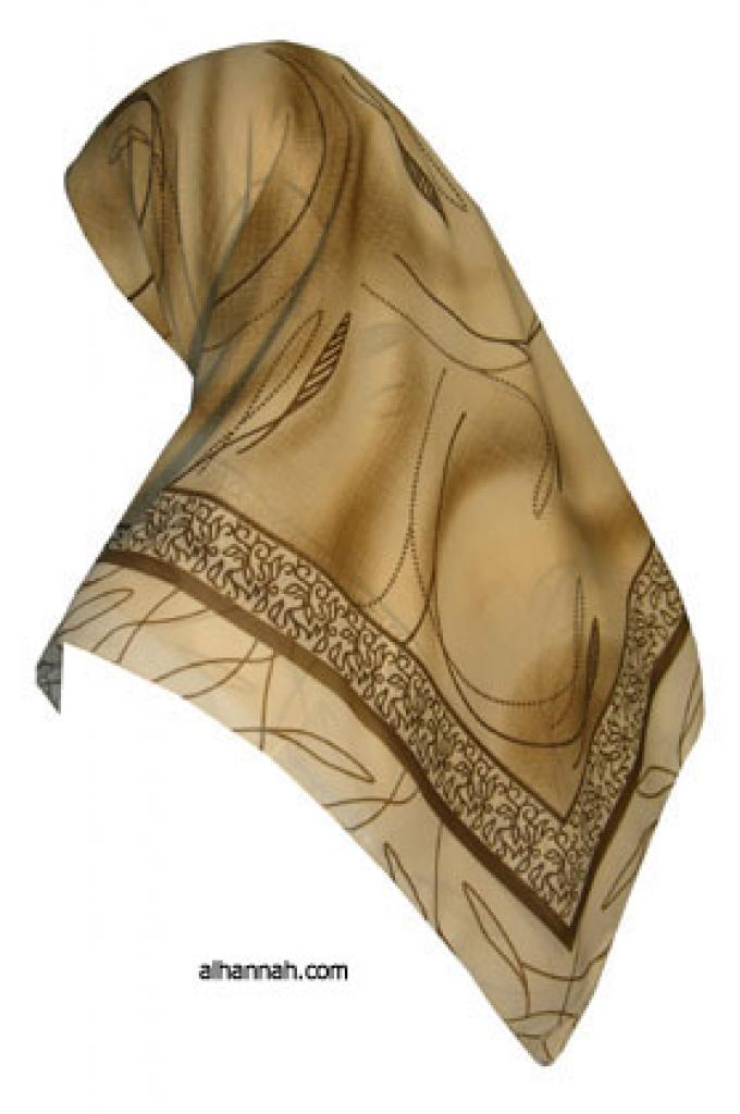 Classic Turkish Gauze Hijab hi1107