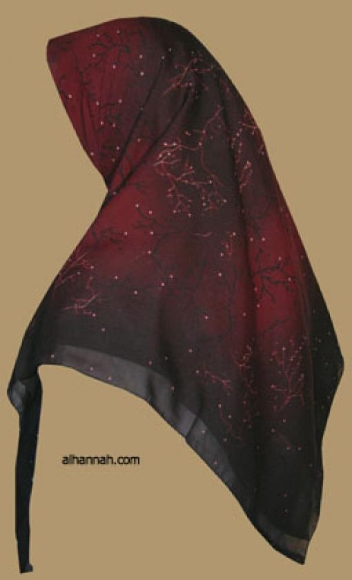 Classic Turkish Gauze Hijab hi1108
