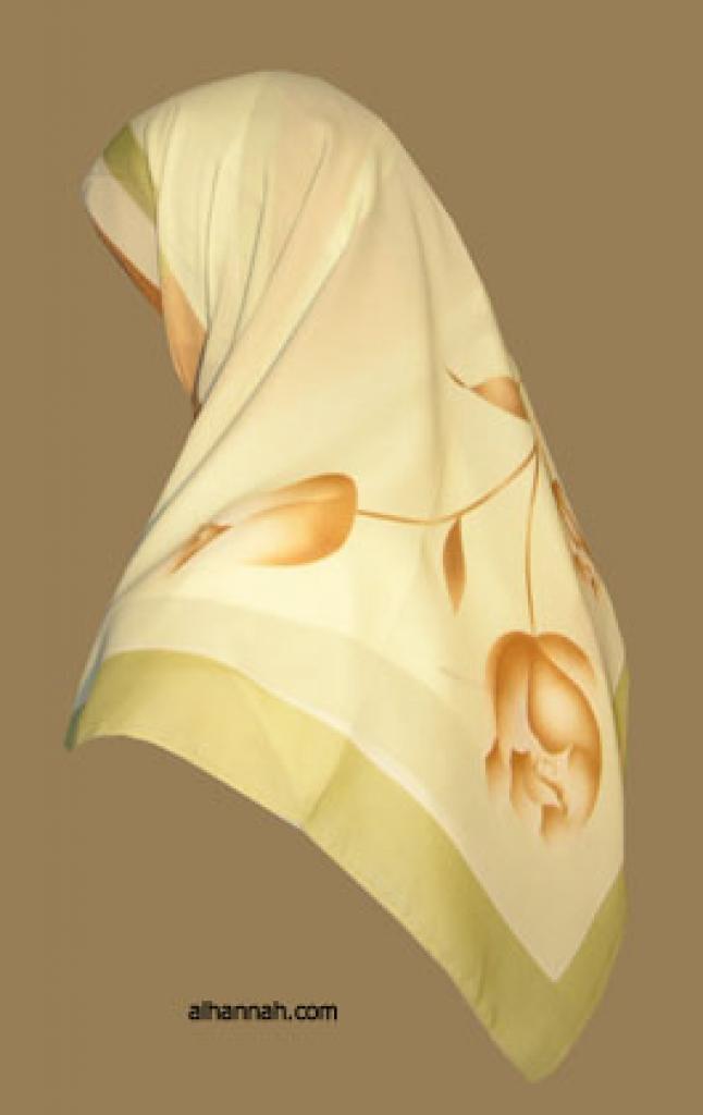 Classic Turkish Gauze Hijab hi1111