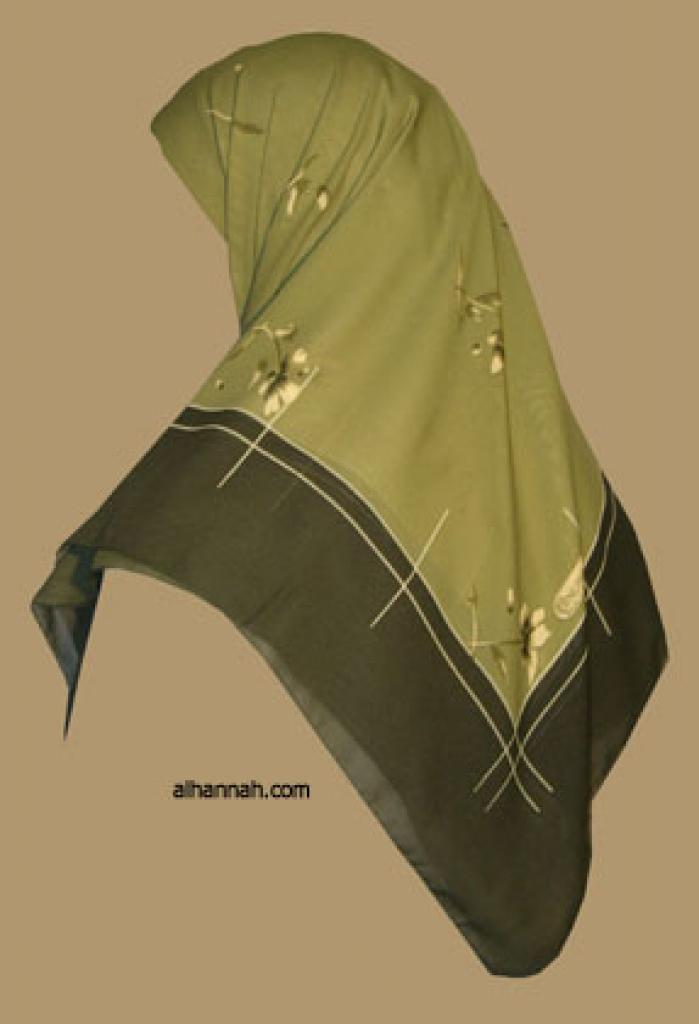 Classic Turkish Gauze Hijab hi1116