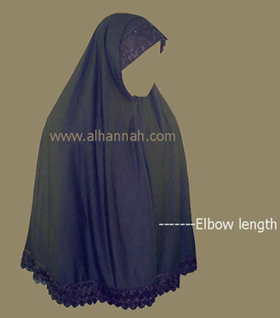 Extra Long Al-Amira Hijab hi111