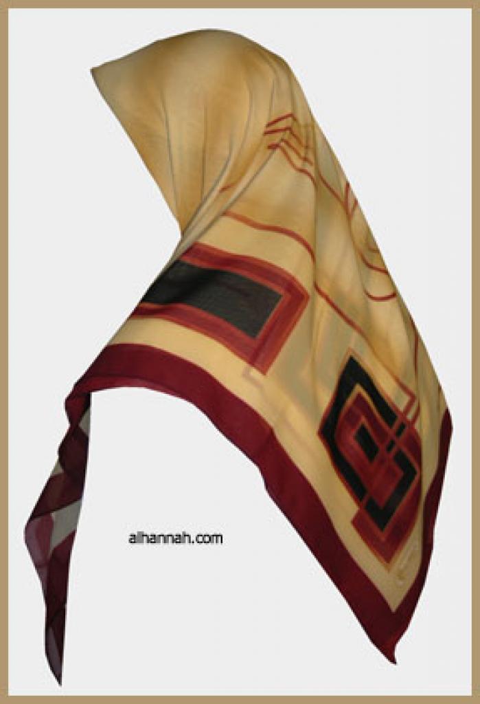 Classic Turkish Gauze Hijab hi1122