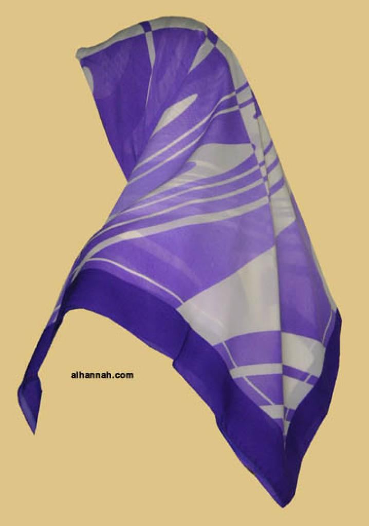 Chiffon Hijab  hi1144