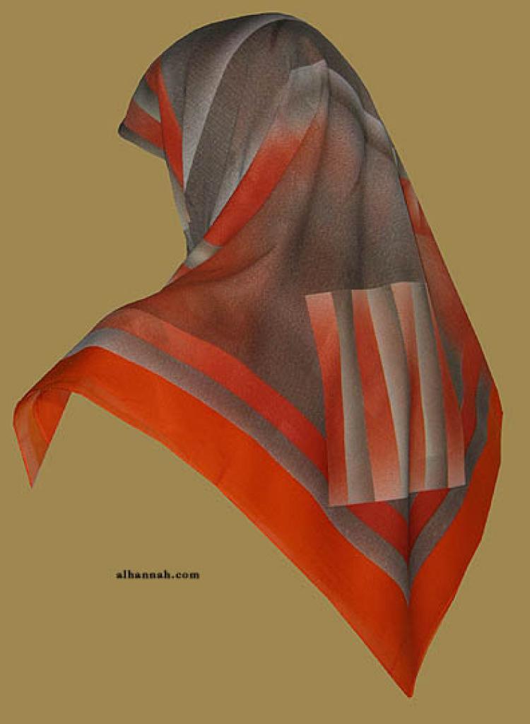 Chiffon Hijab  hi1147