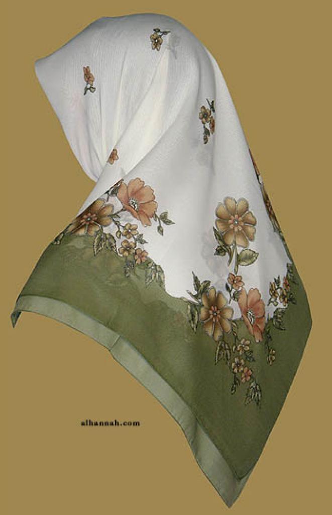 Chiffon Hijab  hi1150
