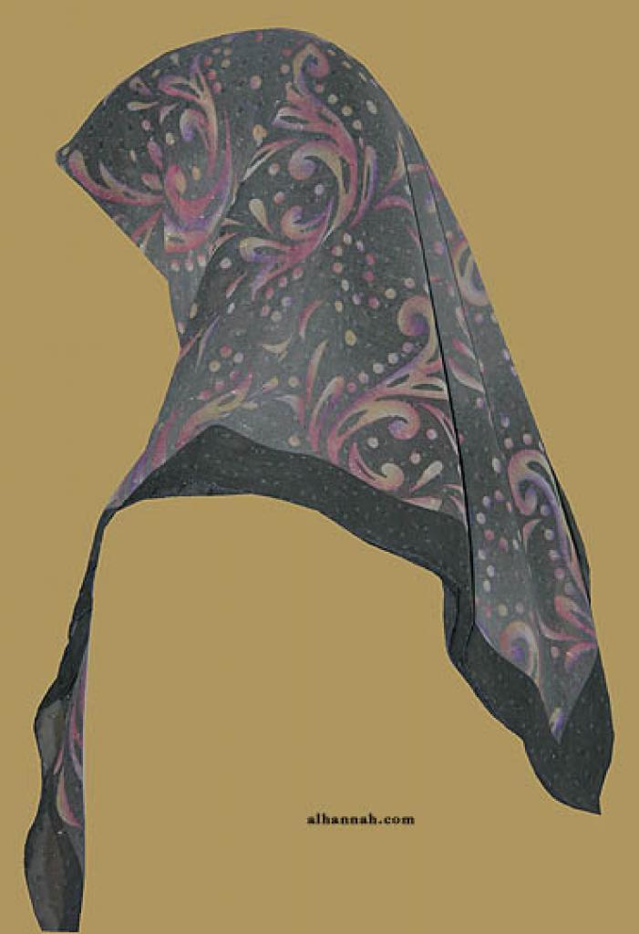 Chiffon Hijab  hi1161