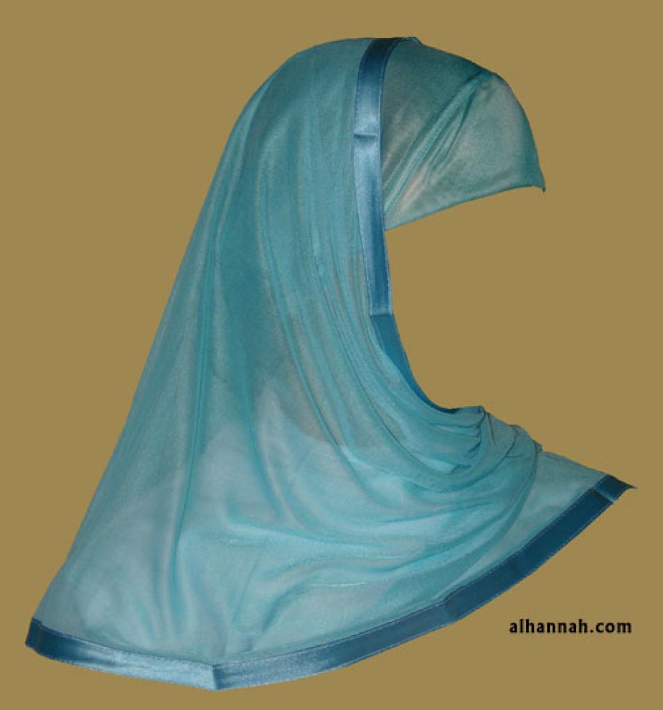 Kuwaiti Style Wrap Hijab hi1184