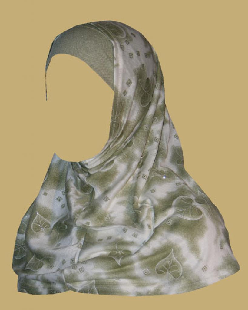 Two Piece Religious Veil hi1201