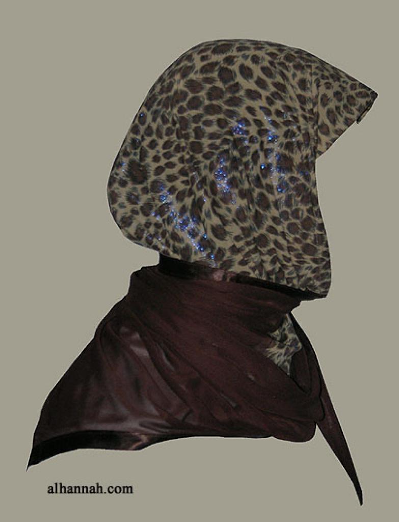 Kuwaiti Style Wrap Hijab hi1263