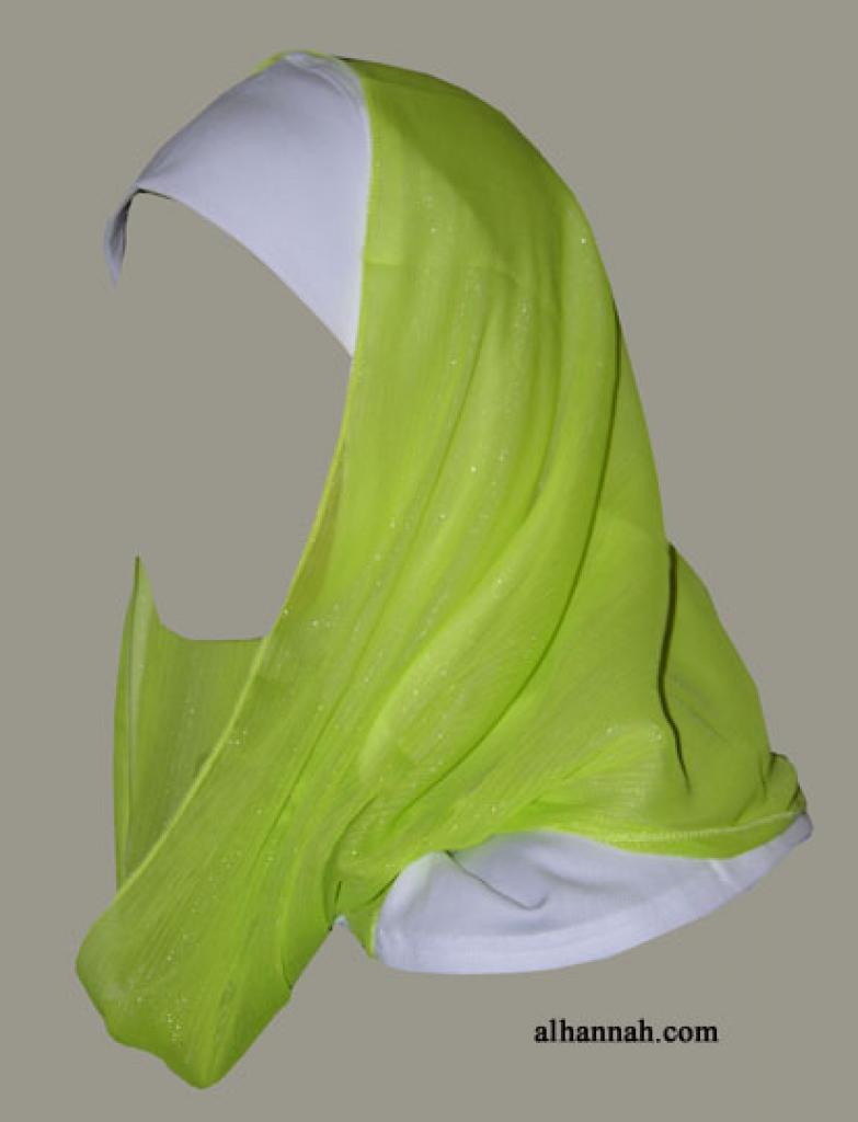 Kuwaiti Style Wrap Hijab hi1268