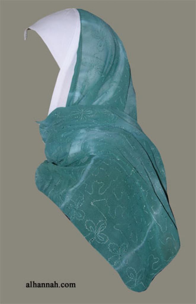 Kuwaiti Style Wrap Hijab hi1271