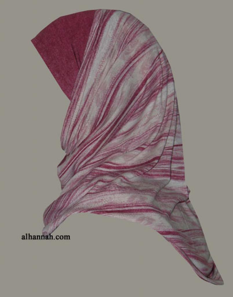 Al Amira 2 Piece Religious Veil hi1294