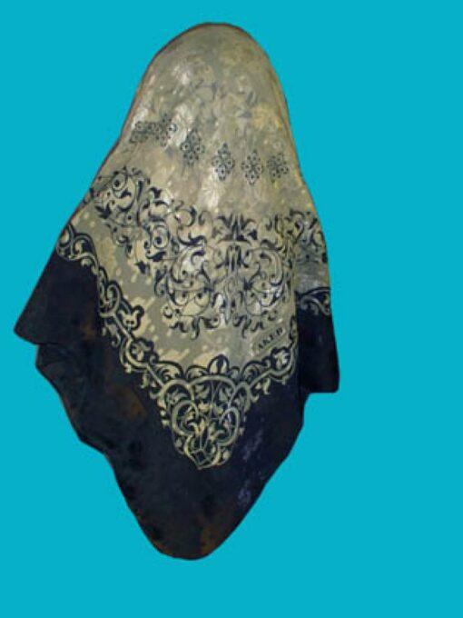 Elegant Jaquard Oversized Hijab hi130