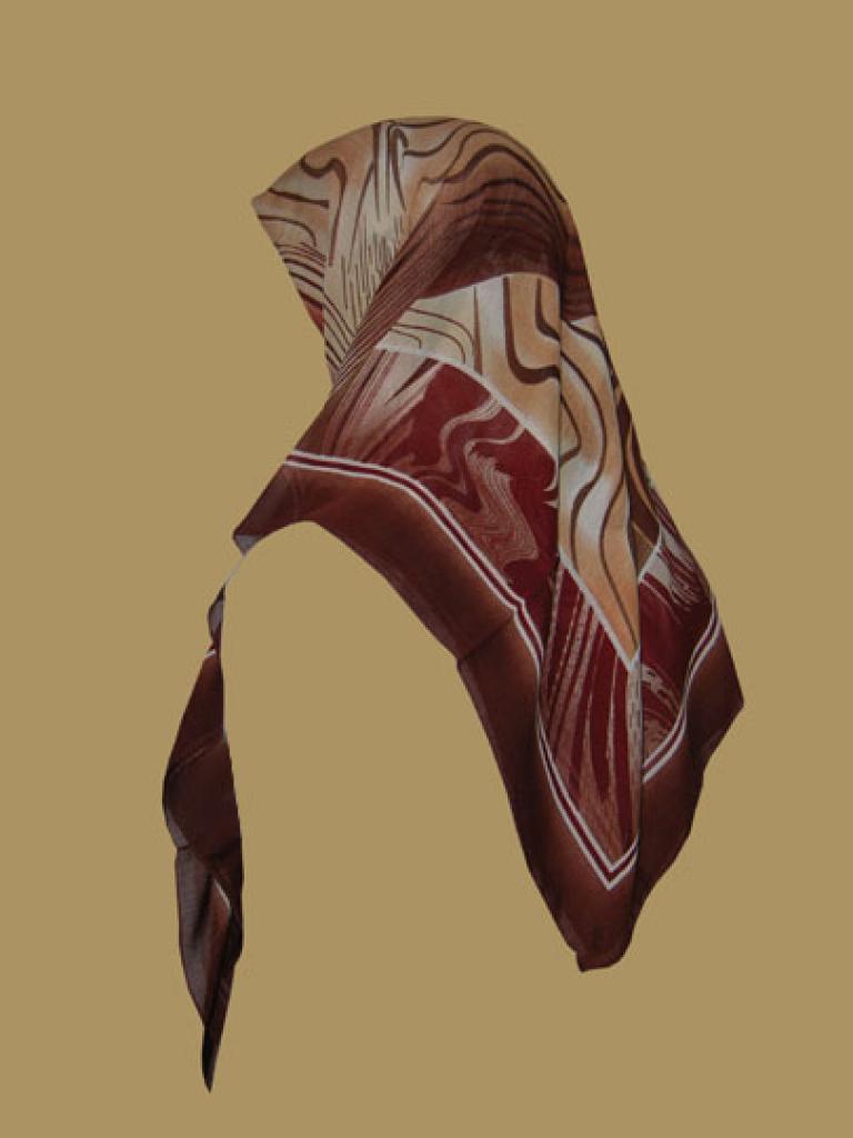 Crepe Crinkle Chiffon Hijab hi1351