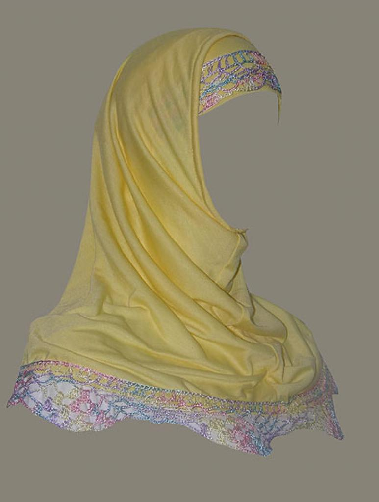 Al Amira 2 Piece Religious Veil  hi1356