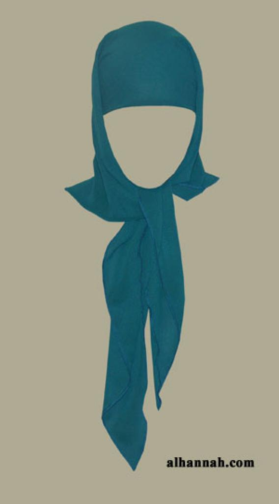 Georgette Triangle tie hijab hi1393